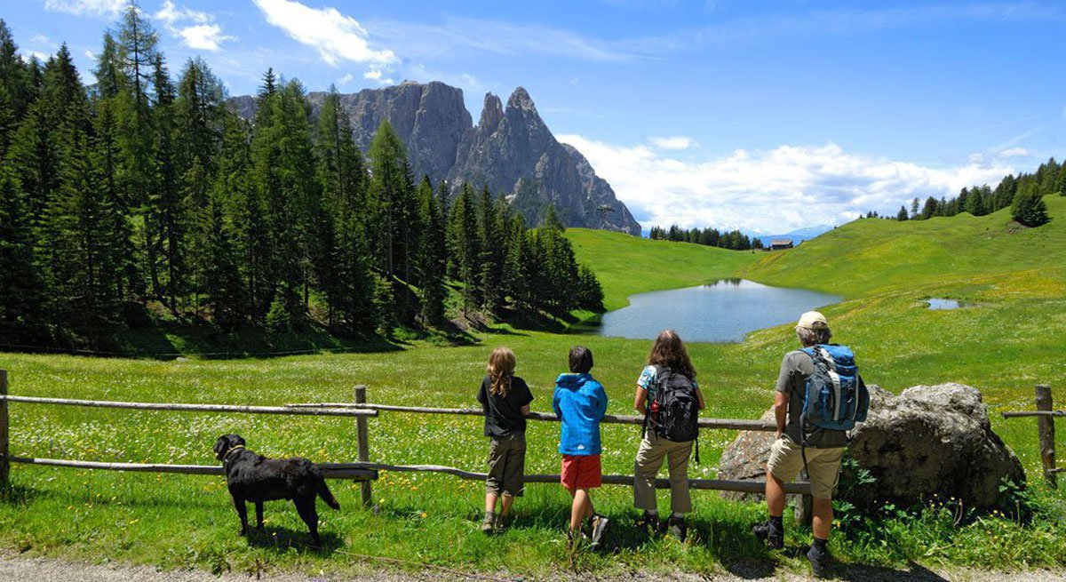 Herrliche Landschaft bietet Abwechslung für Sie und Ihren Hund