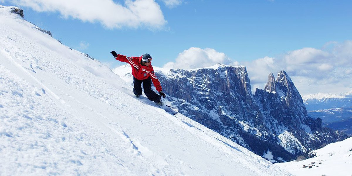 Also for snowboarders – great pleasures in the snow